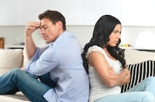 Conflict avoidant couple