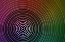 Colored concentric circles